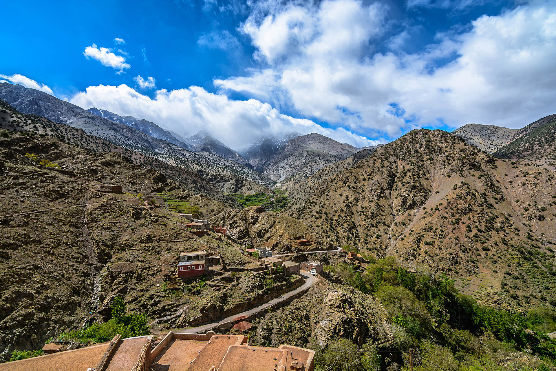 Id Issa, Id Issa Village, Azzaden Valley, High Atlas Mountains, Tazaghart, Morocco