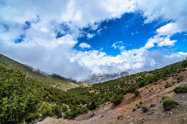 Tizi N'Tacht, High Atlas Mountains, Morocco
