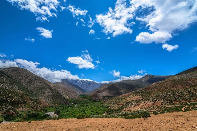 Ait Ali, Ait Ali Village, High Atlas Mountains, Morocco