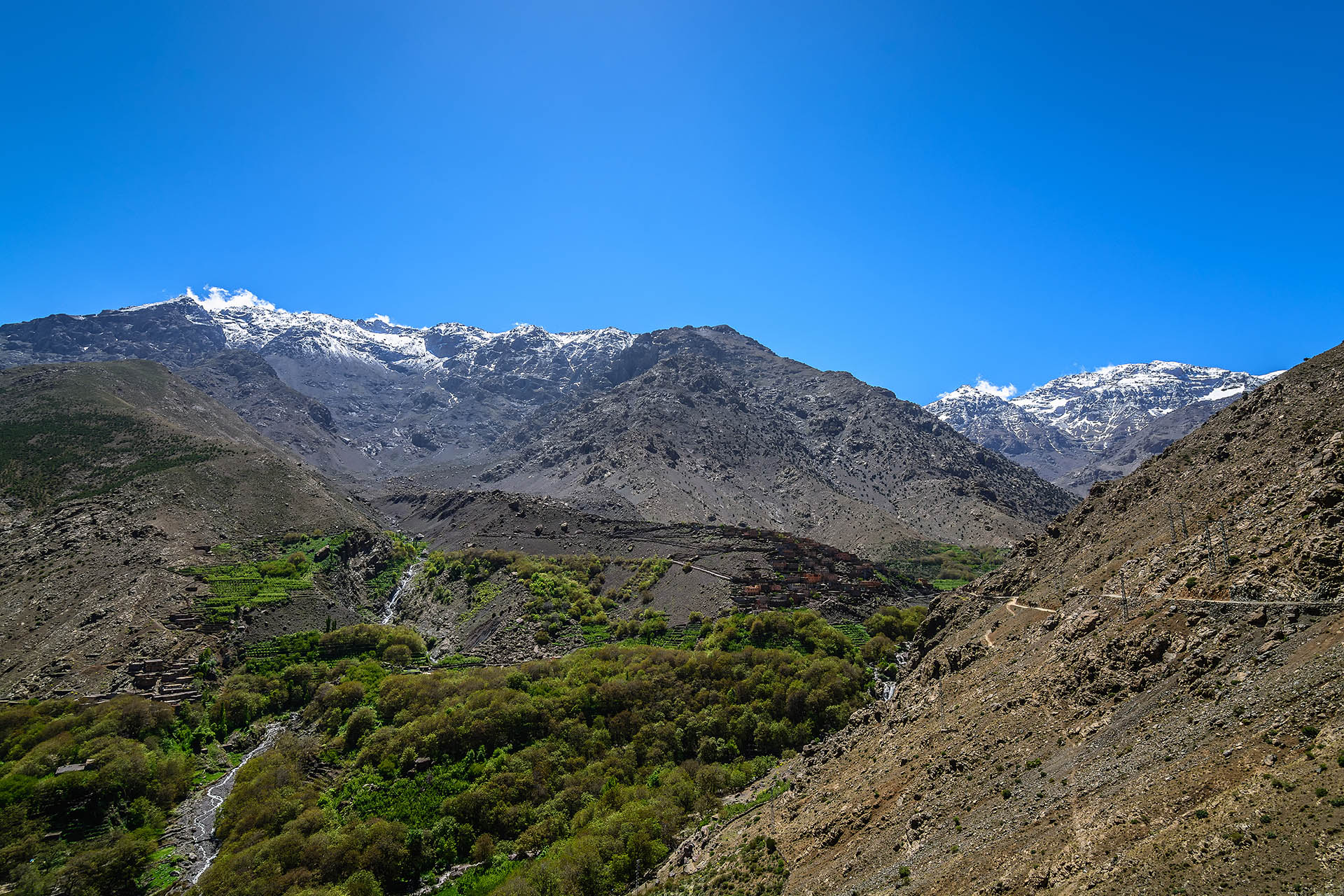 Armed, Armed Village, Imlil Valley, High Atlas Mountains, Toubkal, Morocco