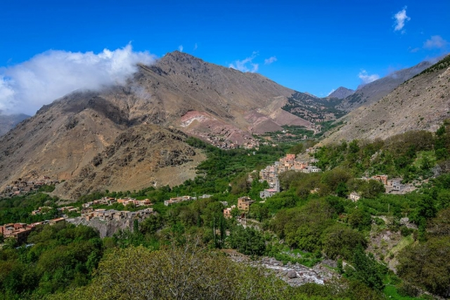 Imlil, Imlil Village, Imlil Valley, High Atlas Mountains, Morocco