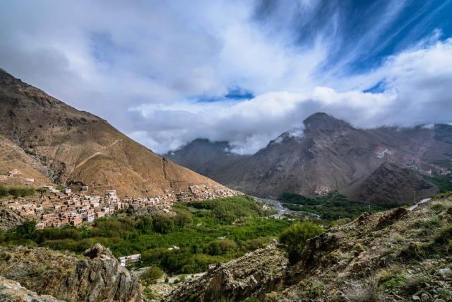 Mzik, Mzik Village, Arghen, Arghen Village, Imlil Valley, High Atlas Mountains, Morocco