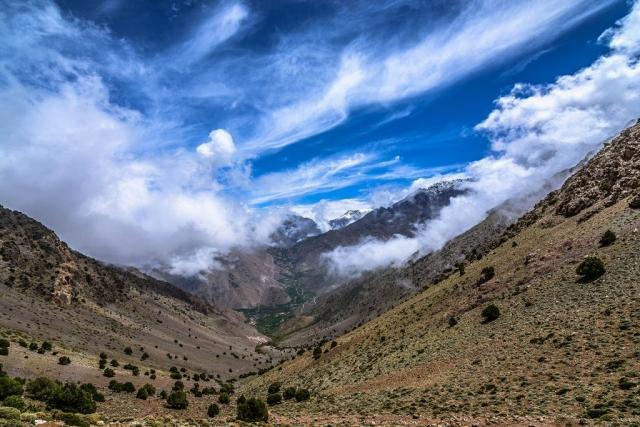 Tizi N'Mzik, Tizi N'Mezzik, Imlil Valley, High Atlas Mountains, Morocco