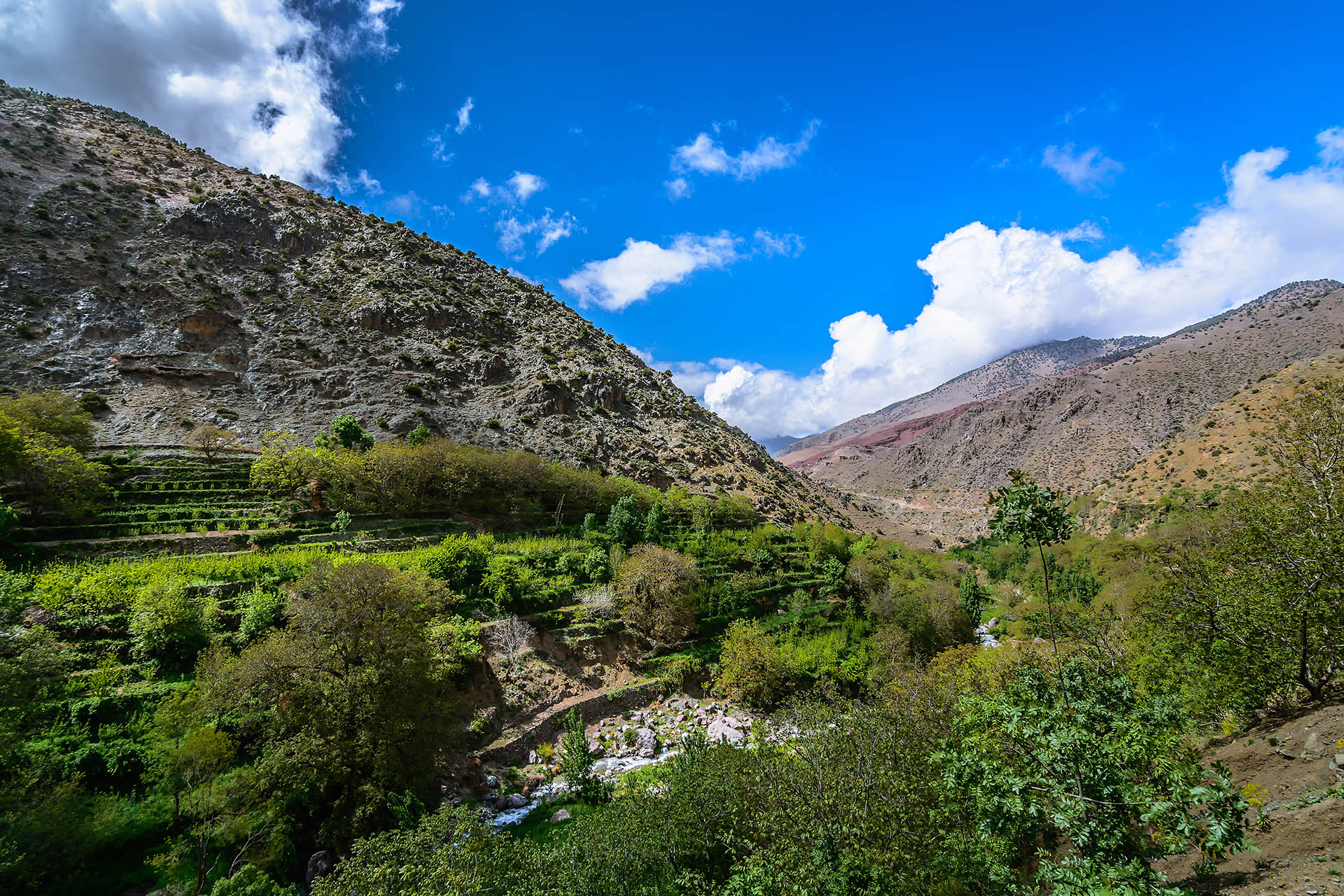 Tizi Oussem, High Atlas Mountains, Morocco
