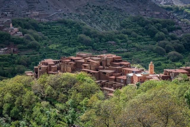 Id Issa, Id Issa Village, Azzaden Valley, High Atlas Mountains, Morocco