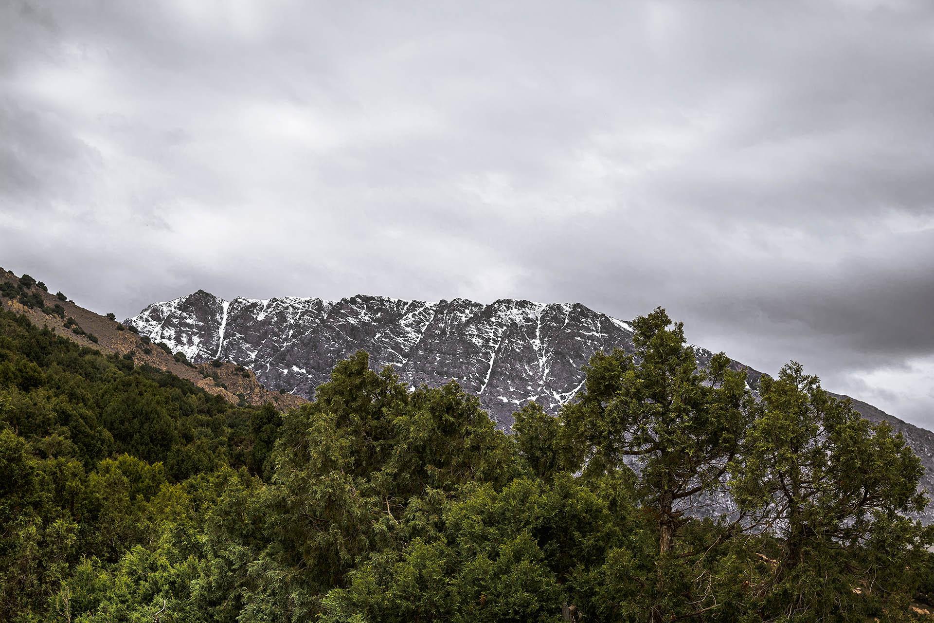 Tazaghart, Tizi Oudite, High Atlas Mountains, Morocco